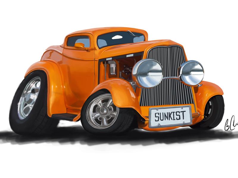 car-illustration-digital